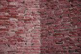 Corner of brick wall background — Stock Photo