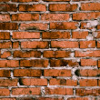 Brick joke brickwork background — 图库照片