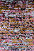 Brick wall (background and texture) — Foto de Stock