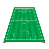 Soccer field — Wektor stockowy