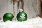 Christmas, christmas ornament — Stock Photo