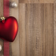 Christmas decoration red — Stock Photo #36933935