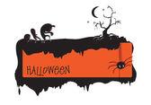 Invitation to halloween — Stock Vector