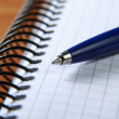 Notebook and pen — Stock Photo #32460869