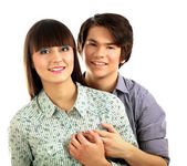 A young loving couple — Stock Photo