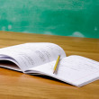 Notebook with pencil — Stock Photo