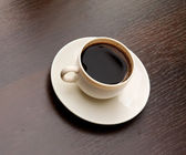 Tasse de café au lieu de travail — Photo