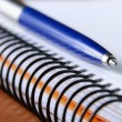 Notebook en pen — Stockfoto