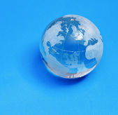 Skleněné koule — Stock fotografie