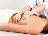 Woman getting spa treatmen — Fotografia Stock