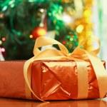 Christmas gift boxes. — Stock Photo