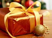 圣诞礼品盒. — 图库照片