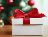 Cajas de regalo de navidad. — Foto de Stock
