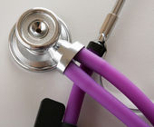 Stethoscope closeup — Stockfoto