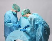 Operating a patient — Stock Photo