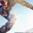 Snowboarder flying — Stock Photo #36504717