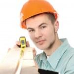 一位青年工人 — 图库照片