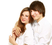 Shot of a young couple — Stock Photo