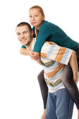 Young loving couple — Stock Photo