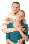 Um casal apaixonado, — Foto Stock