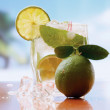 Mojito cocktail drink — Stock Photo