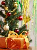 Scatole regalo di natale. — Foto Stock