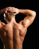 Muscular young man — Stock Photo