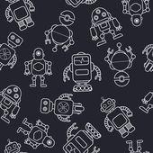 Cartoon robot. — Stock Vector