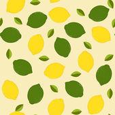 Fundo transparente com verde e amarelo limão — Vetor de Stock