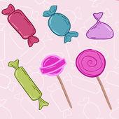 Cartoon candy icon. — Stock Vector