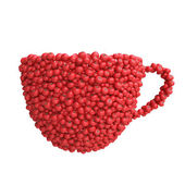 Cup of tomatoes — Stock Photo
