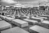 Memorial to the Murdered Jews of Europe — Stock Photo