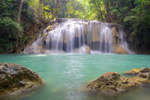 Waterfall in Erawan National Park — Stock Photo