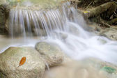 Small simple waterfall in Erawan National Park — Stock fotografie