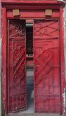 Red Shrine gate — Stock Photo