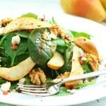 Salat mit Birnen und Feta — Stock Photo #32180225