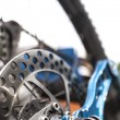 Mountainbike disc brake — Stock Photo