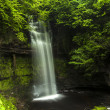 Long exposed beautiful waterfall in Ireland 2 — Stock Photo