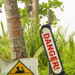 Danger & current warning — Stock Photo #35277007
