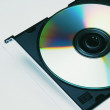 Cd In A Case — Stock Photo