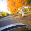 Stock Photo: Driving Along A Scenic Road