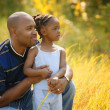 Stock Photo: Father And Daughter Spend Time Together