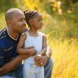 Father And Daughter Spend Time Together — Stock Photo