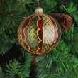 kerstboom ornamenten — Stockfoto