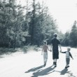Walking Together — Stock Photo