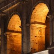 Stock Photo: The Coliseum Rome Italy