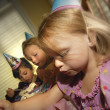 Stock Photo: Children At A Birthday Party