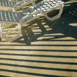 Chairs In The Sun — Stock Photo