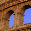 Stock Photo: Close-Up Of The Coliseum Rome Italy