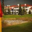 Stock Photo: Golf Resort